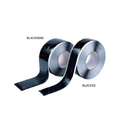 Czarna taśma 50 mm x 10 m - BLACK50